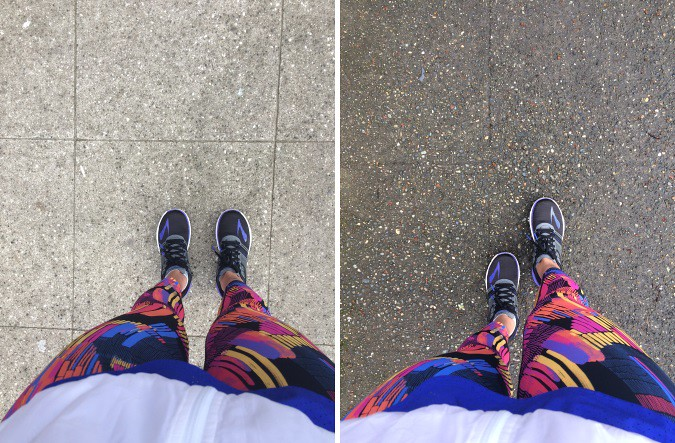 Brooks Running gear: ghost crop, LSD jacket