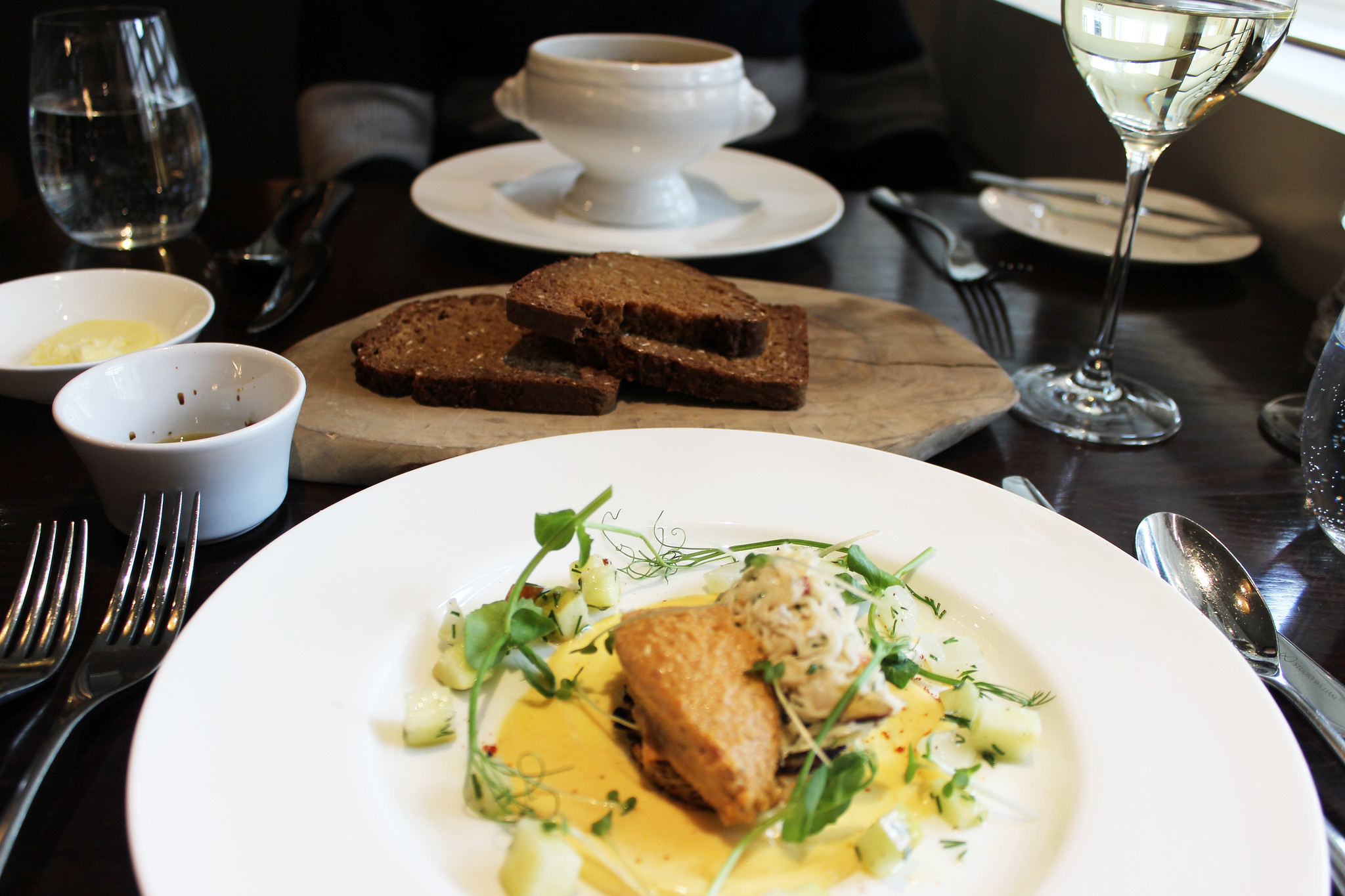 2 Starters Hunter 486 The Arch London Restaurant Review FoodFashFit