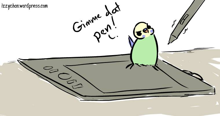 wacom tablet budgie