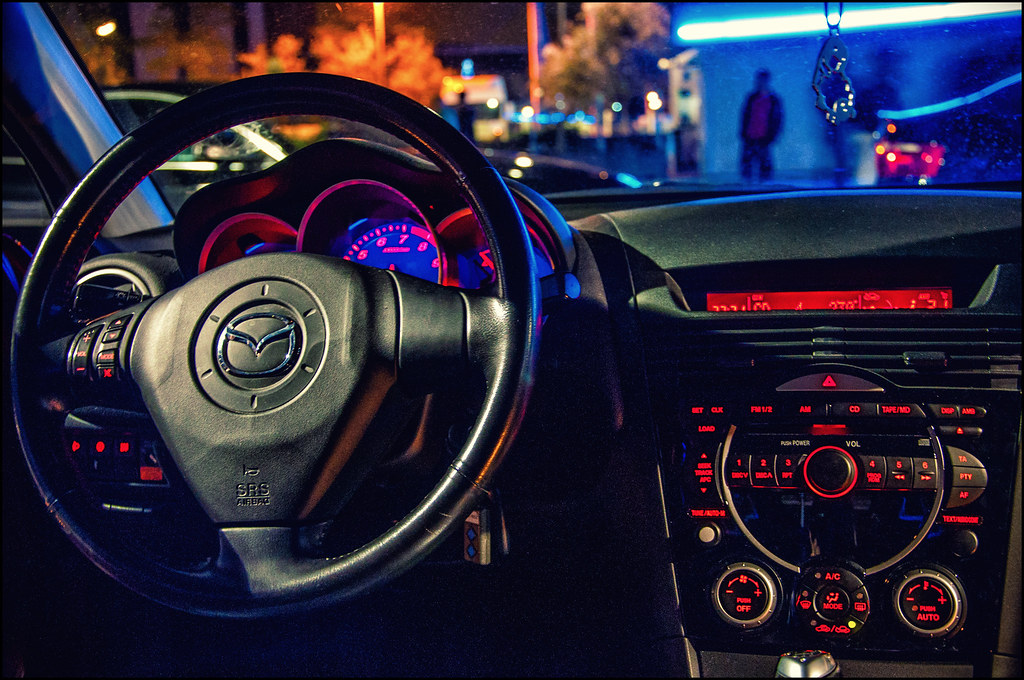 mazda rx8 interieur by snikkaz