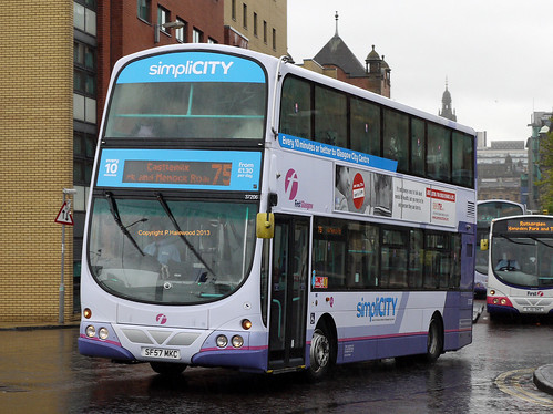 First Glasgow 37206 (SF57MKC) | Most of the branded Volvo/Ge… | Flickr