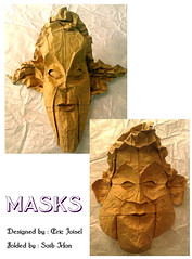 Masks By Eric Joisel