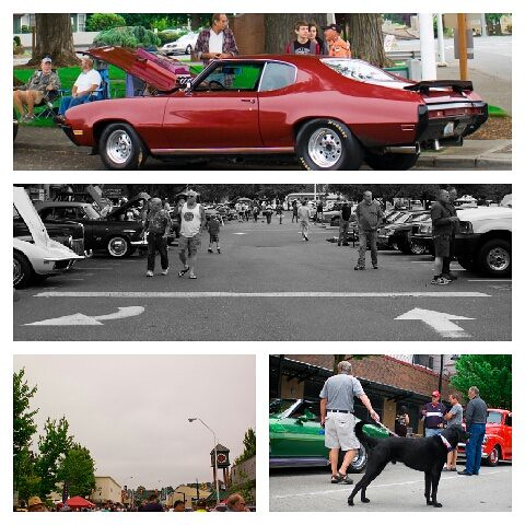 Return To Renton Car Show