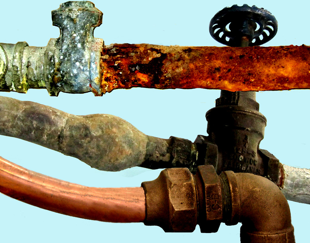 Water main materials galvanized pipe lead water line k for Water line pipe material