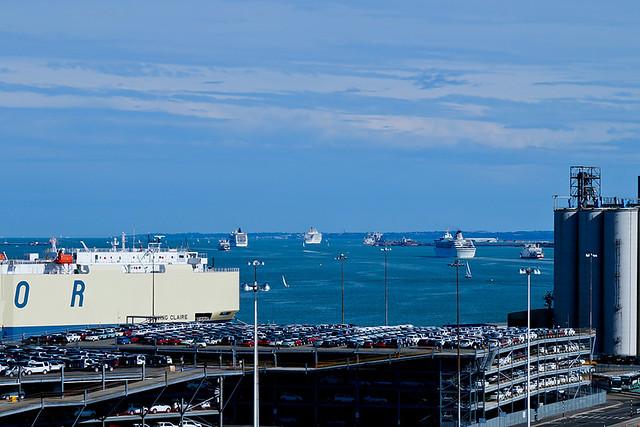 Cruise Ships Leaving Southampton  Flickr  Photo Sharing