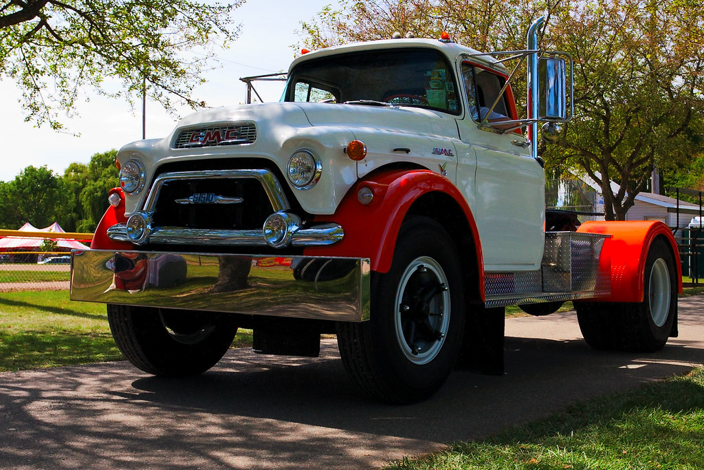 Gmc 550 Truck At Auto Fest 30th Frankenmuth Auto Fest At