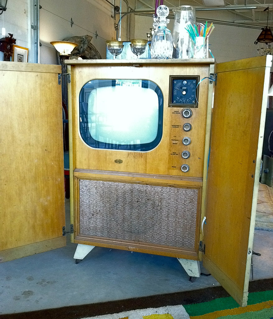 1950s tv sold state of the art tv dumont television ca flickr - Television but solde ...