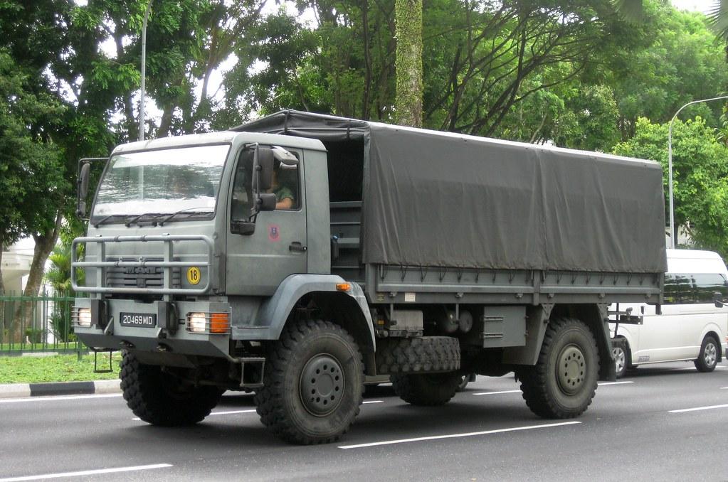 singapore army man laerc 5 ton truck nighteye. Black Bedroom Furniture Sets. Home Design Ideas