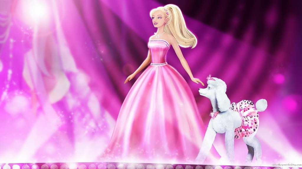 Barbie Princess Doll Background Hd Wallpaper How To