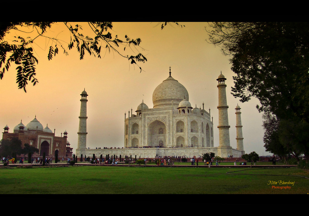 Waah Taj The Taj Mahal Is A White Marble Mausoleum