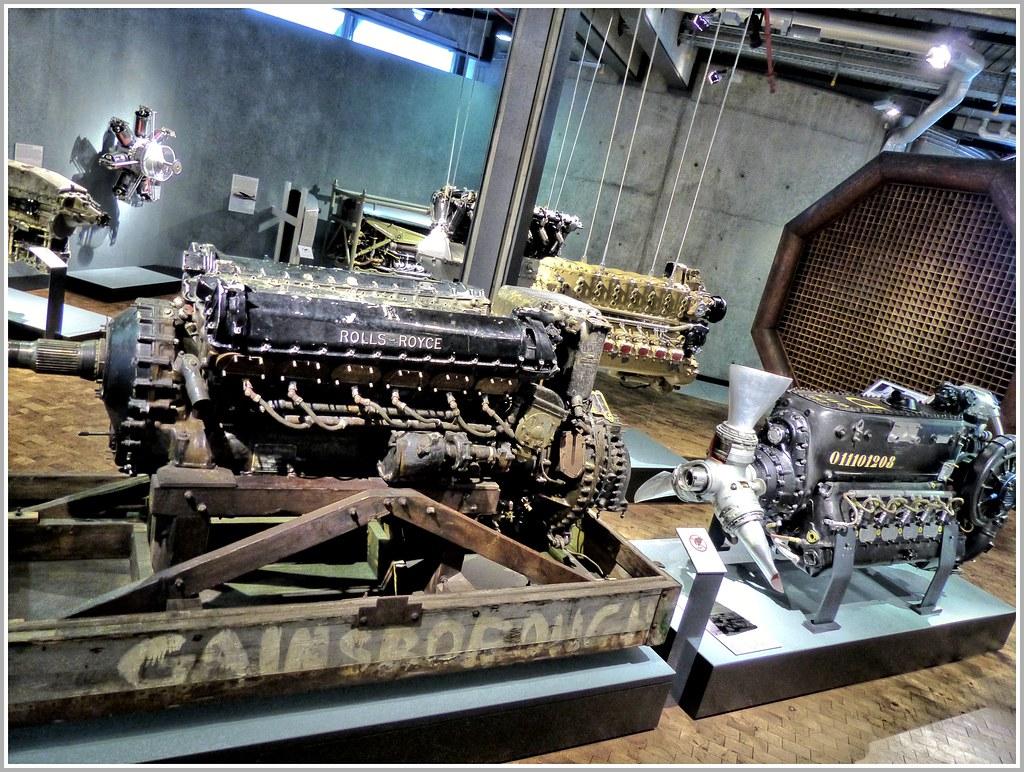 Legende Der Luftfahrt Rolls Royce Merlin V12 Flugmotor