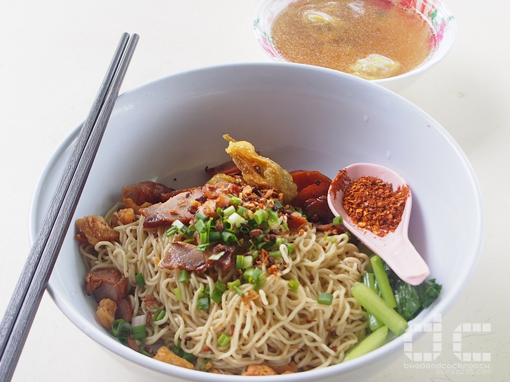 food, food review,review, singapore, soi 19, soi 19 thai wanton mee, thai wanton mee, 十九街, 十九街雲吞麵, 雲吞麵