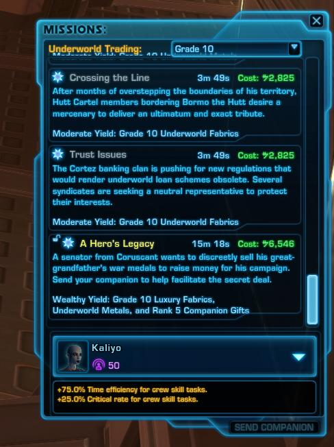 Mission Discovery - Underworld Trading (Grade 10)
