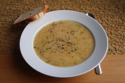 Englische Gemüsesuppe (aufgetaut)