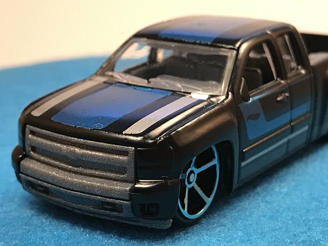2017 Hot Wheels, Chevy Silverado, 2017 HW Hot Trucks 10/10