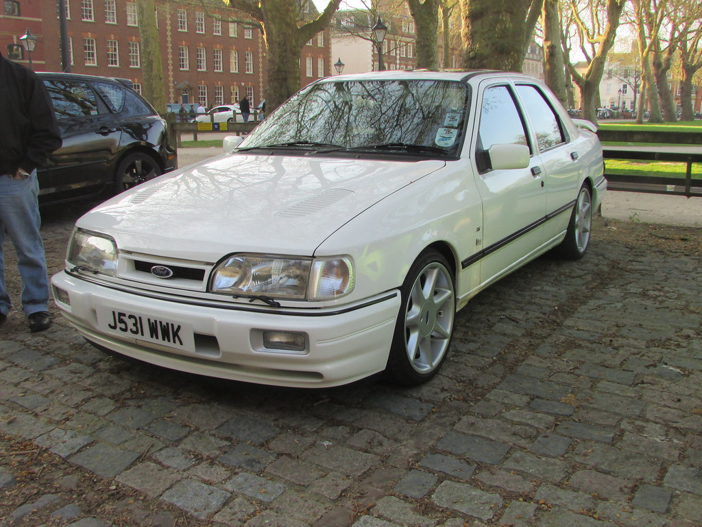 ... Ford Sierra Sapphire RS Cosworth J531WWK | by Andrew 2.8i
