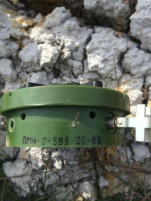 СБУ вилучила боєприпаси російського походження у районі проведення АТО
