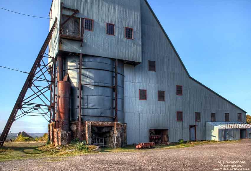 The No.2 Shaft-Rockhouse, Quincy Mine near Hancock, Michig ...