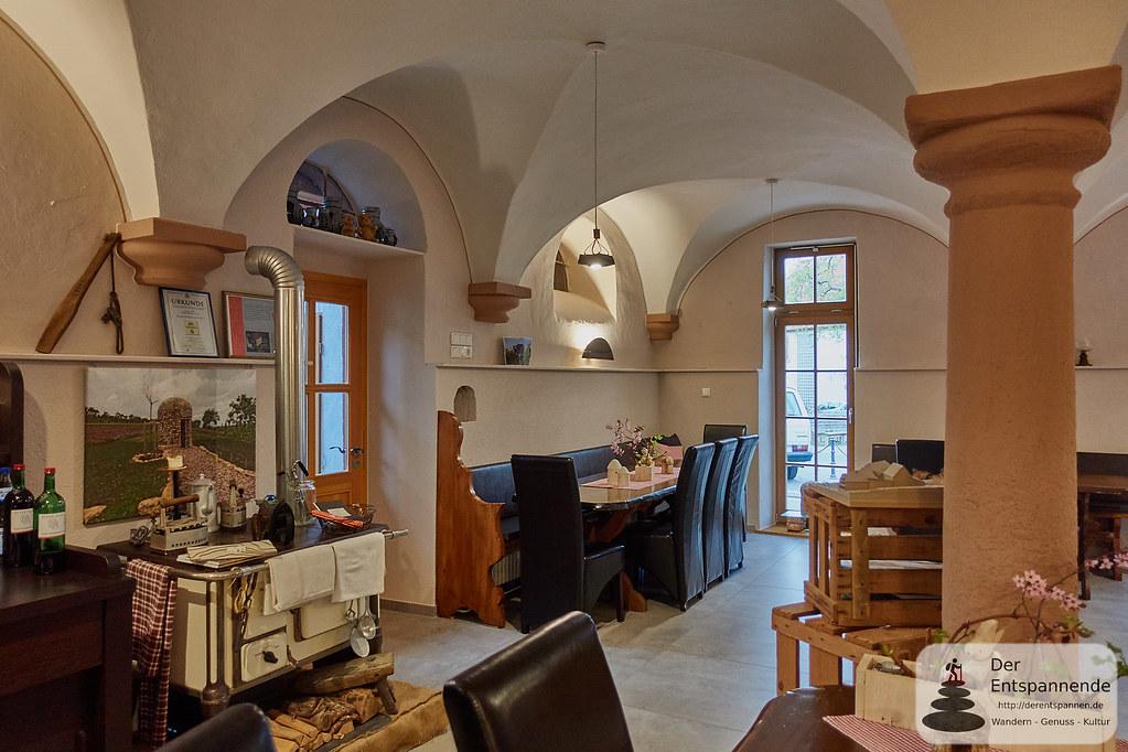 Frühstücken in der Kuhkapelle im Weingut Beyer-Bähr