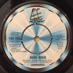 COMMODORES:BRICK HOUSE(LABEL SIDE-A)