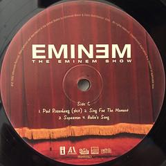 EMINEM:THE EMINEM SHOW(LABEL SIDE-C)
