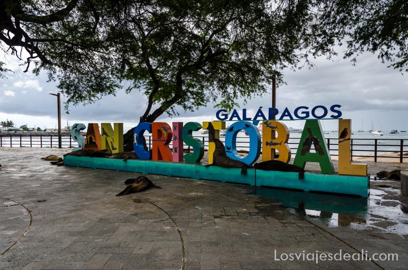 San Cristóbal islas Galápagos