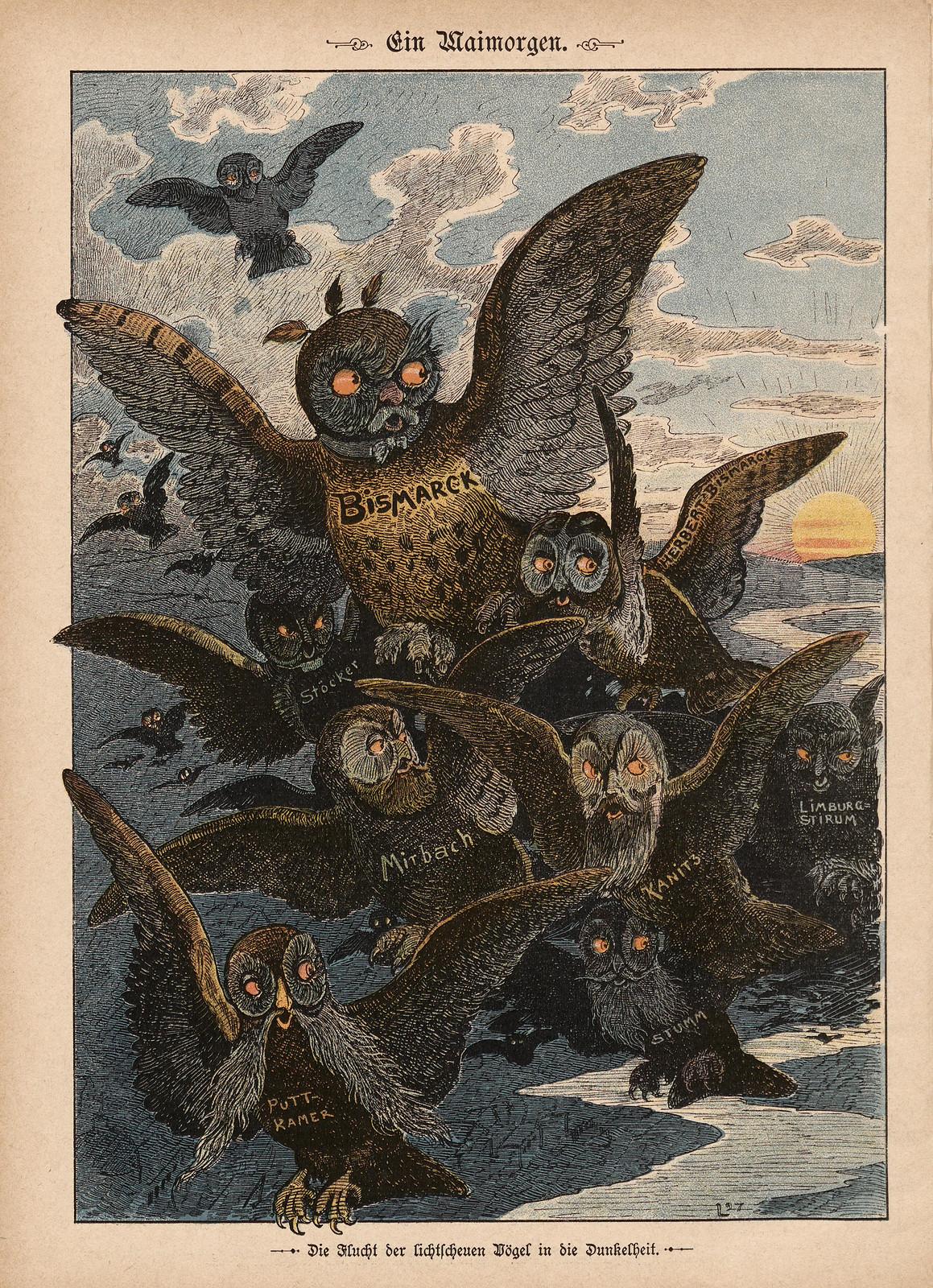 Monogramm L - Ein Maimorgen, 1897