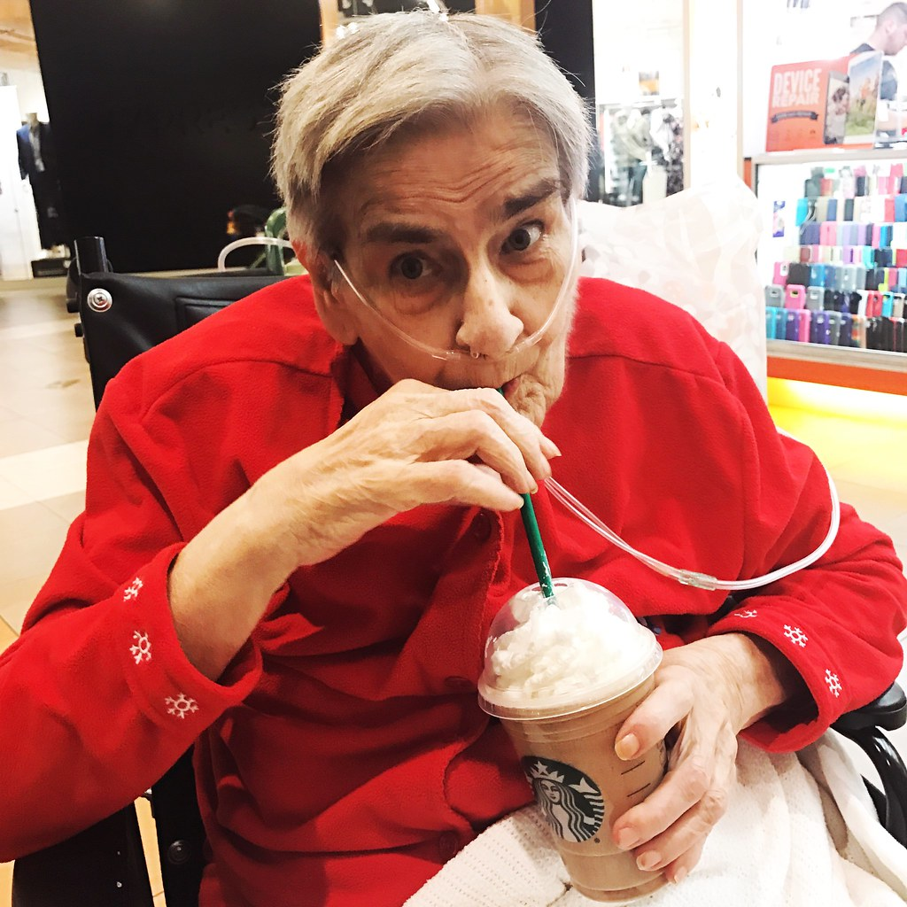 Mom's first frap
