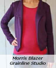 Morris Blazer von der Annäherung Süd 2016
