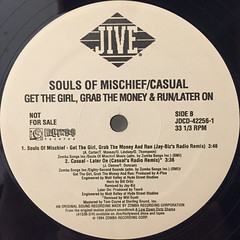 SOULS OF MISCHIEF:GET THE GIRL GRAB THE MONEY AND RUN(LABEL SIDE-B)