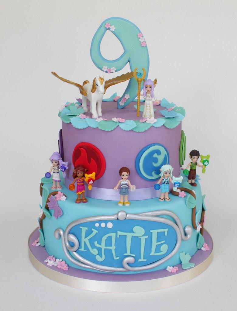 Lego Character Cake
