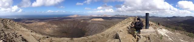 Un volcán en Lanzarote