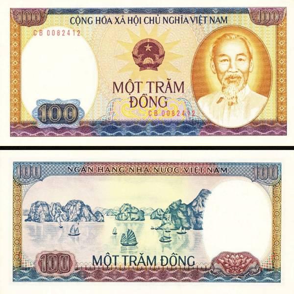 100 Dong Vietnam 1980, P88a