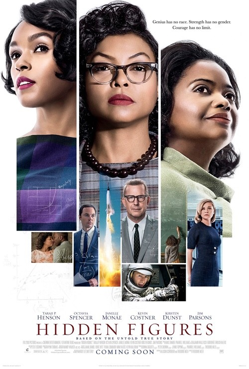 film reviews February - hidden figures