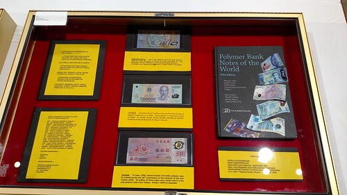 Polymer Bank Notes of the World exhibit