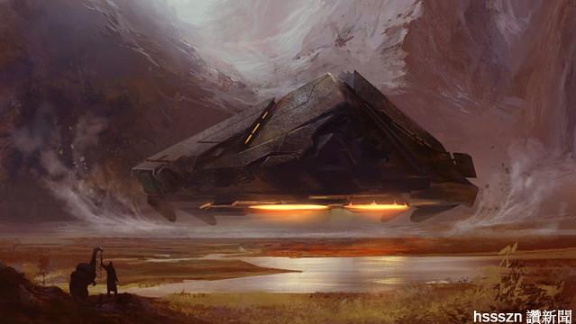 Alien-SpaceShip-
