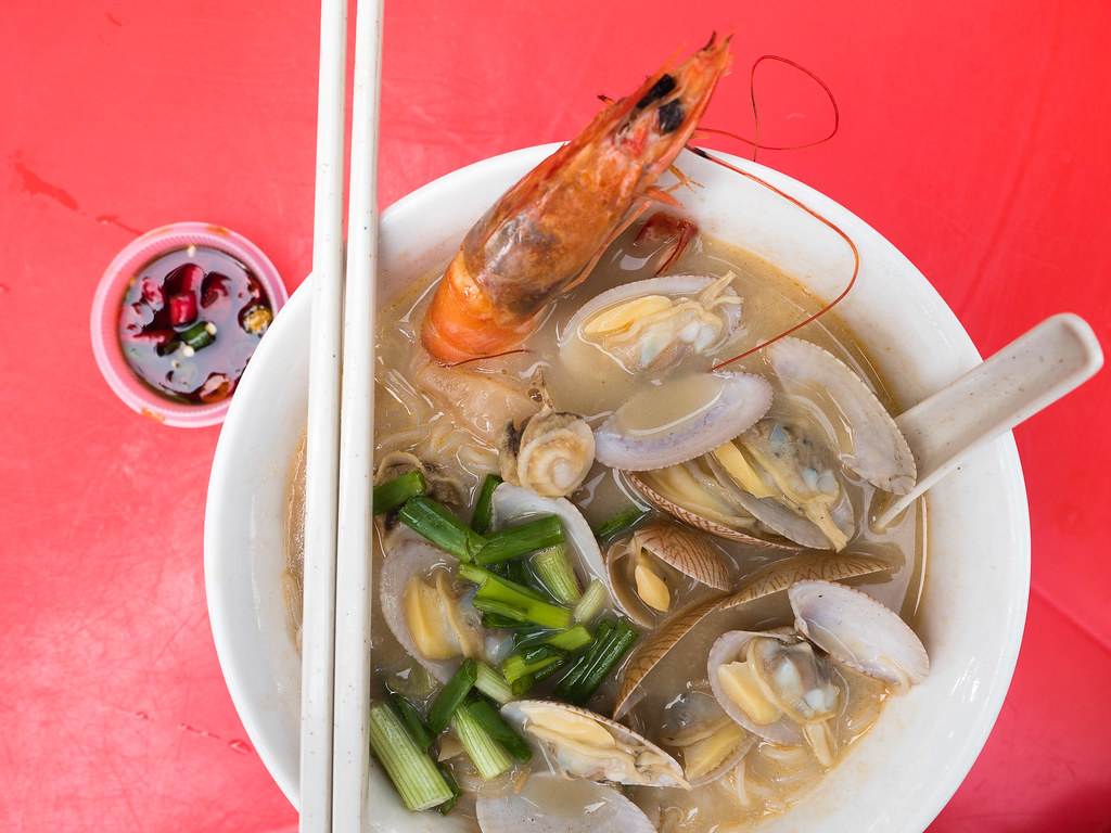 Hennessy XO Seafood noodle. Fresh and sweet.