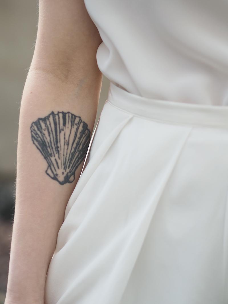 Valkoiset silkkihousut Whitetail