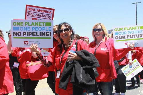 Stop Austerity Stop KeystoneXL | by National Nurses United