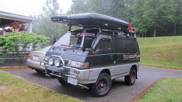 Mitsubishi Delica 4x4 Diesel Van Flickr Photo Sharing