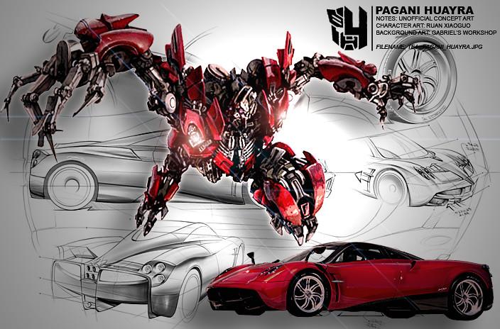 Pagani Huayra Concept >> TF4 PAGANI HUAYRA | #transformers #TF4 #transformers 4 #tran… | Flickr
