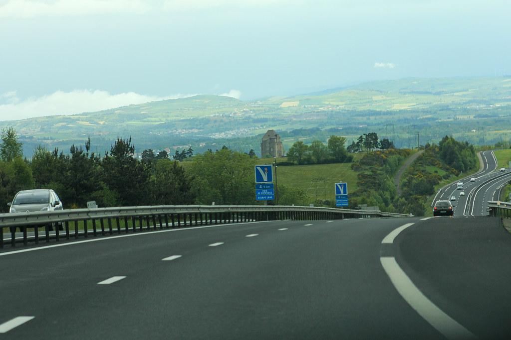 Autoroute A75 Quot La M 233 Ridienne Quot Loubaresse France Flickr