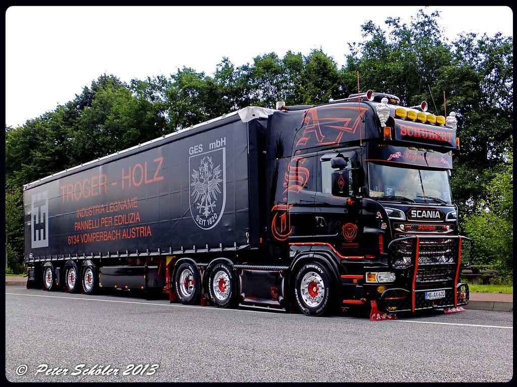 Extrêmement SCANIA R620 V8 Topline - Andreas Schubert Transporte AX620… | Flickr PR19