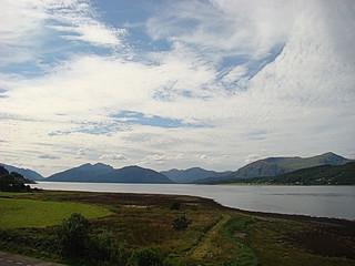 092 Uitzicht bij hotel Ballachulish