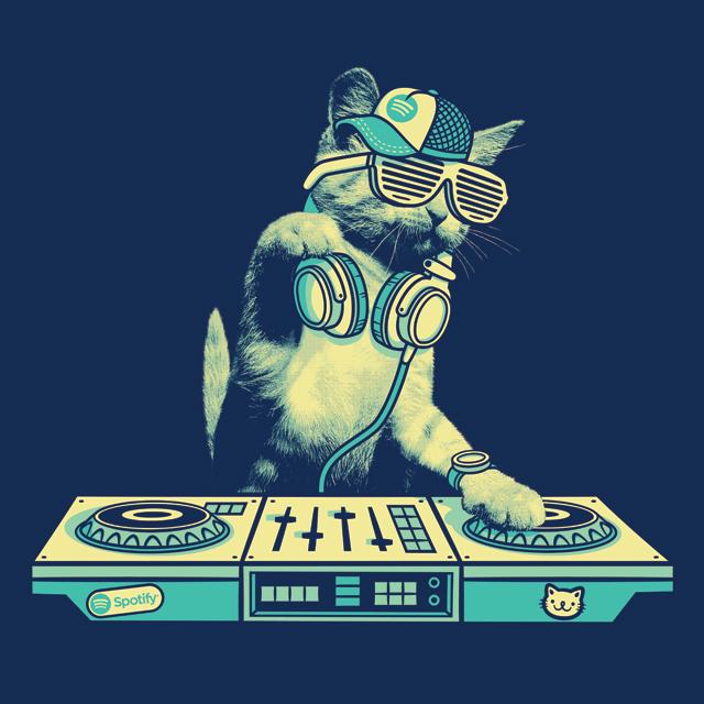 Spotify DJ Cat