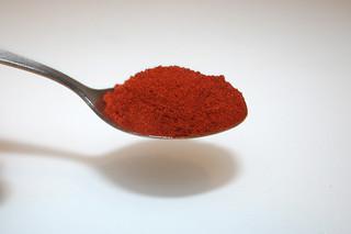 06 - Zutat geräuchertes Paprika / Ingredient smoked paprika