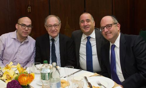Professor Alan Dershowitz Adresses YOFHS