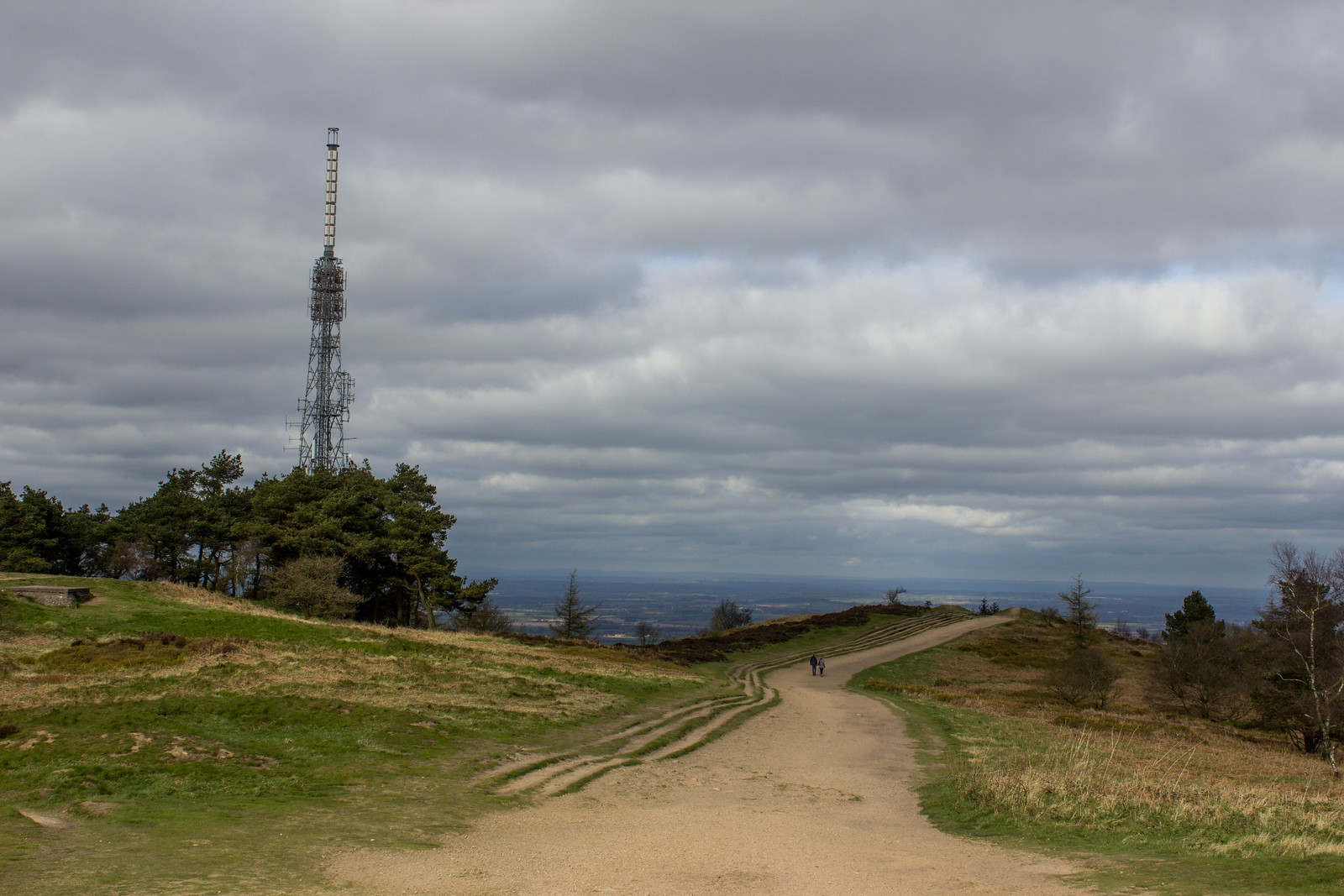 The top of the Wrekin