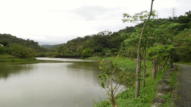 1.金龍湖,舊稱匠頭埤,臺北盆地最大湖泊。