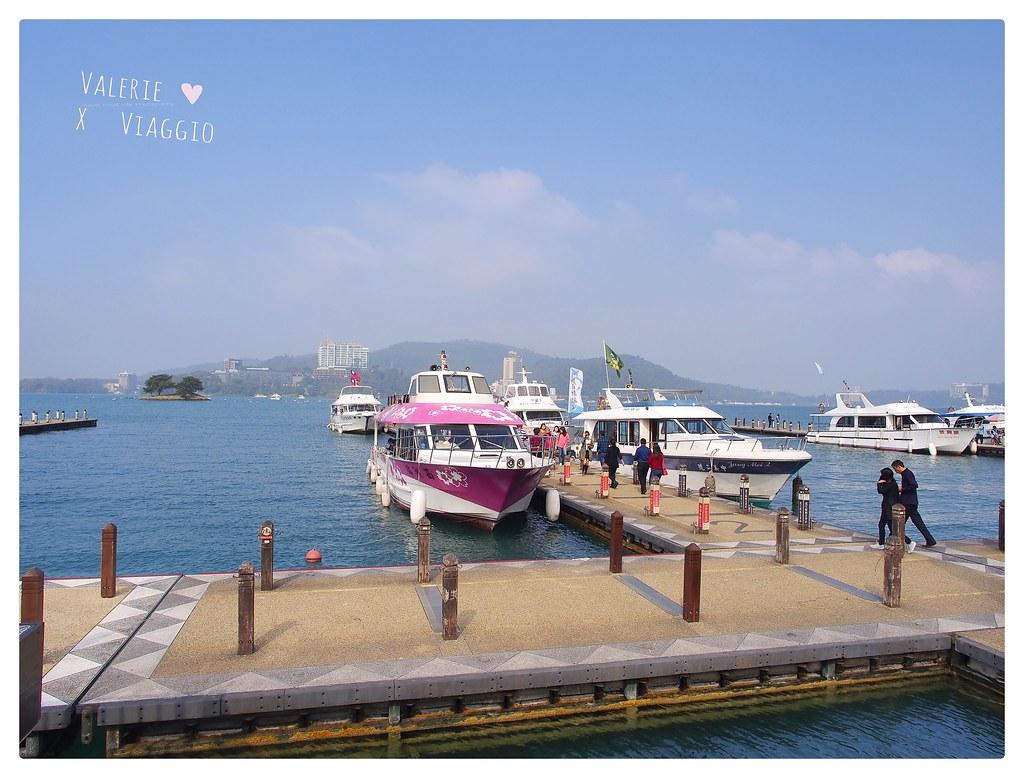 【南投 Nantou】老方式遊日月潭 搭船欣賞早晨的湖光山色 阿婆茶葉蛋 伊達邵碼頭 @薇樂莉 ♥ Love Viaggio 微旅行